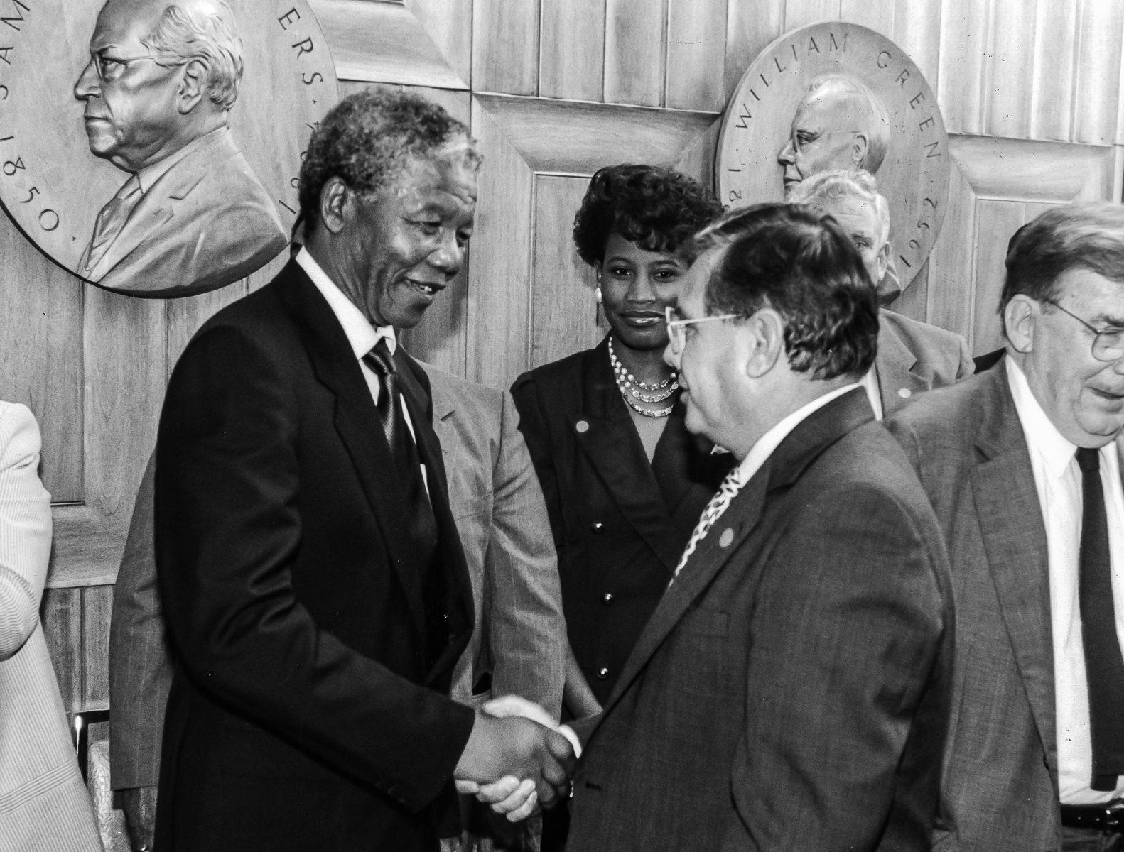 13 Kourpias with Nelson Mandela 6×8.5